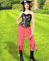 Rachel Wall Striped Pants