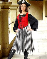 Alvilda Striped Skirt
