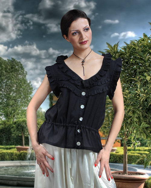 Jacquelyn Sleeveless Blouse