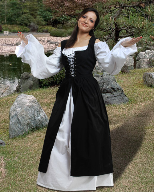 Women's Medieval Times Costumes