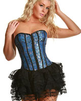 Fashion of Goth Clothing: Gothic Corset, Pirate Shirt, Gothic Skirts