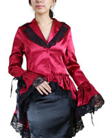 Gothic Jackets, Gothic Coats :  tops gothic corset goth clothes dresses