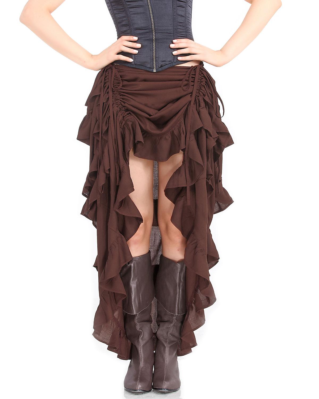 Elegant Steampunk Gothic Ladies Beauty Fashion Costume Creativity Steampunk D