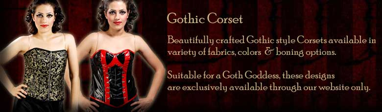 Gothic Shirts & Corsets