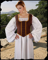 Reversible Wench Bodice (Decorated)