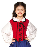 Girls Reversible Bodice