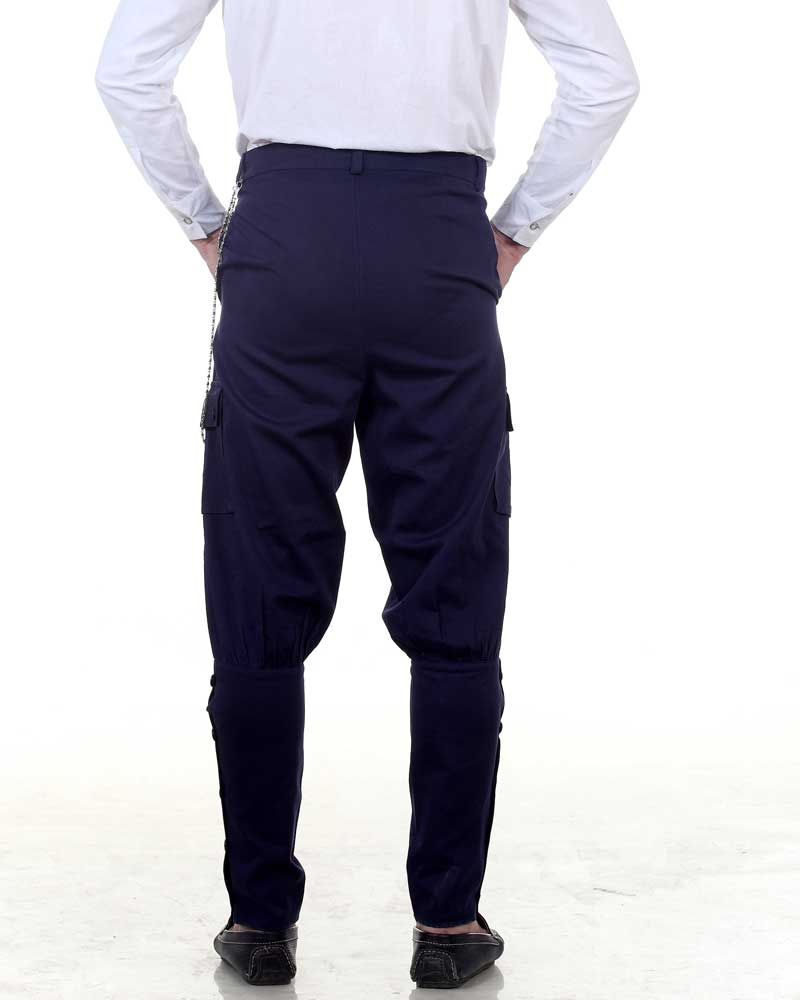 Steampunk Jodhpuri Pants