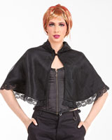 Steampunk Lace Shrug