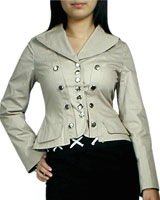 Military Jacket Corset Blazer