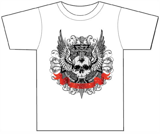Knife Through a Skull T-shirt