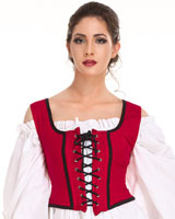 Decorated Wench Bodice